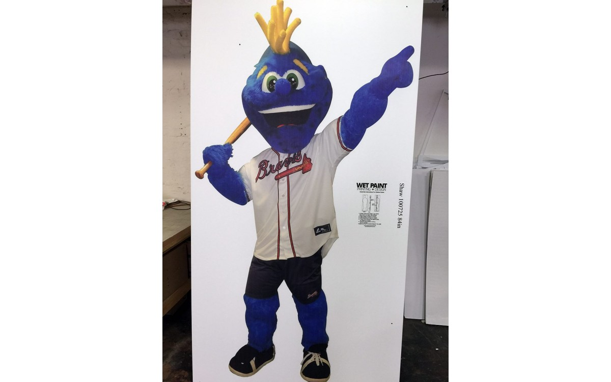 Coraplast outdoor lifesize cutout