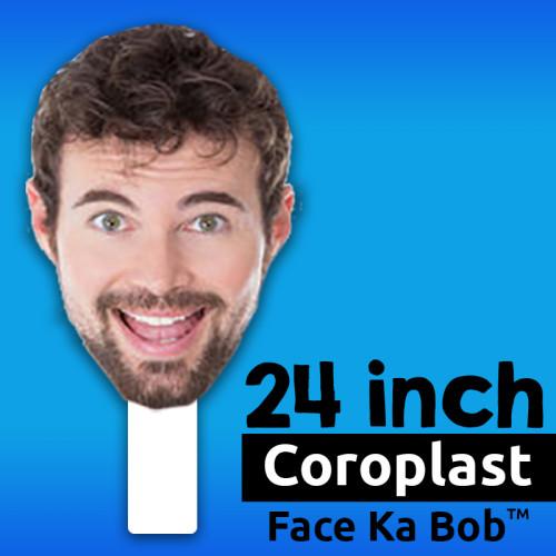 "24"" Custom Coroplast Face-Ka-Bob"