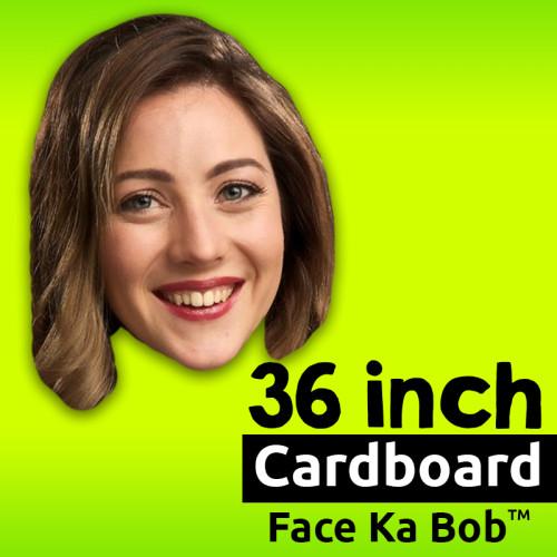 """36"""" Custom Cardboard Face-Ka-Bob"""
