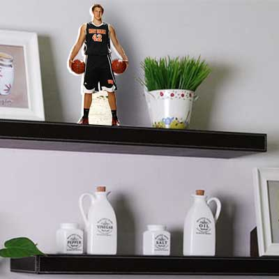 shelf buddy acrylic basketball pic