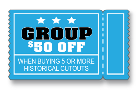 $50 dollars off 5 or emore cutouts