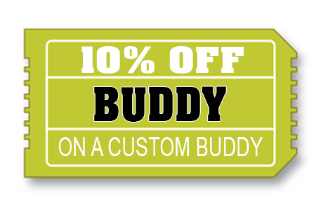 10% off Shelf Buddy Cutouts
