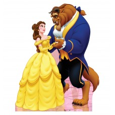 Beauty and the Beast Classic Cardboard Cutouts